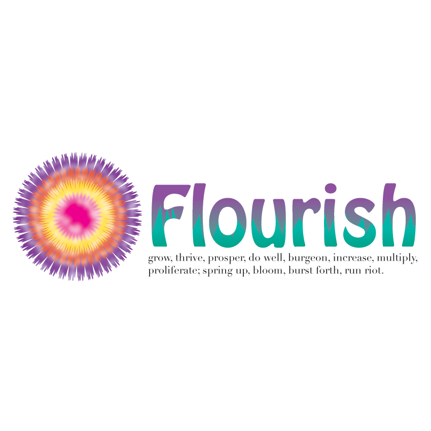 Logo Design by Marzac2 - Entry No. 10 in the Logo Design Contest Flourish.