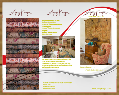 Print Design by Azmiha - Entry No. 13 in the Print Design Contest Print Design Needed for Interior Design Company Amy Karyn Inc..