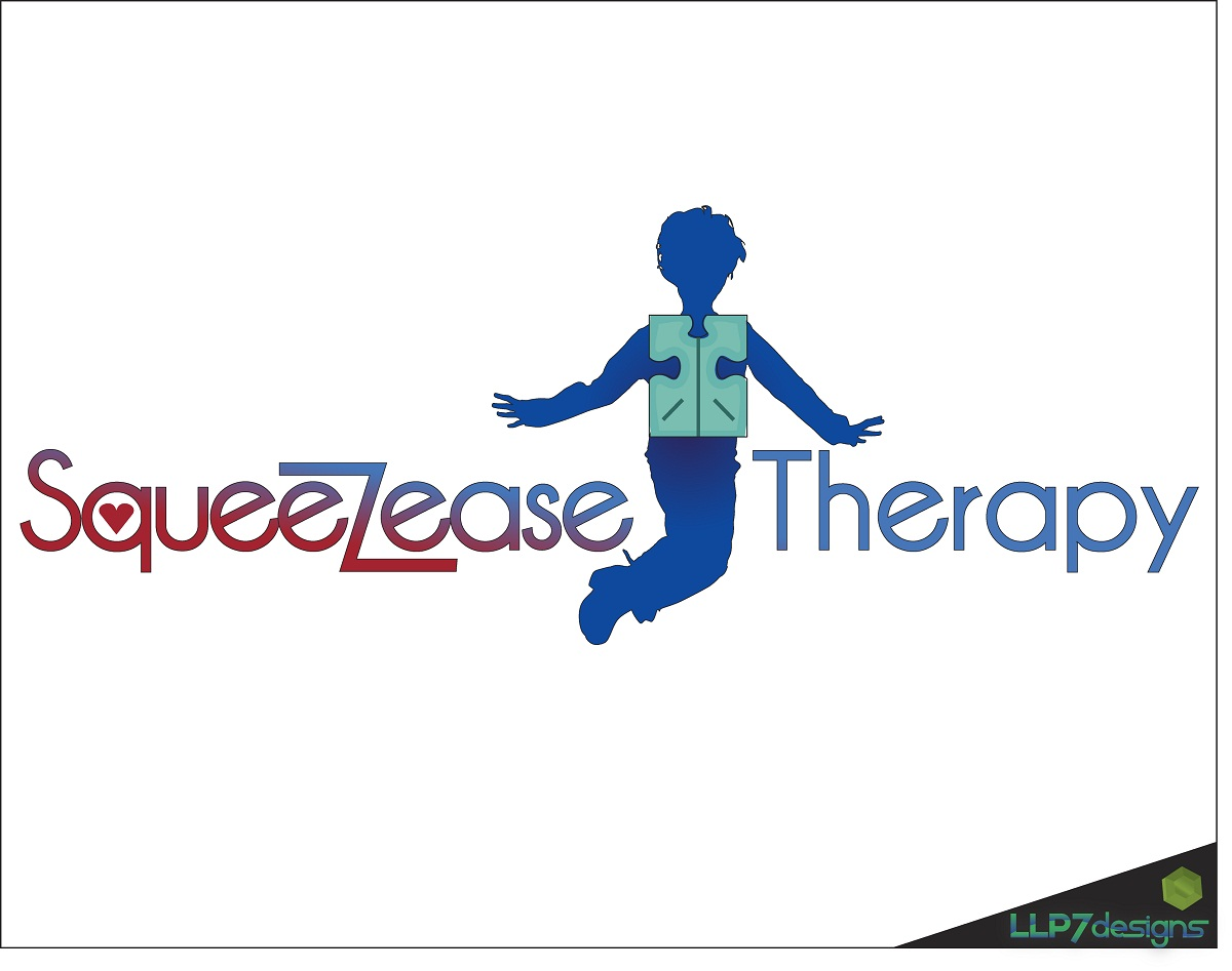 Logo Design by LLP7 - Entry No. 4 in the Logo Design Contest Fun Logo Design for Squeezease Therapy.