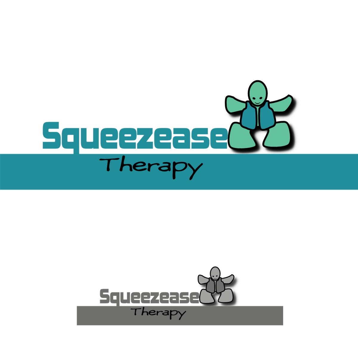 Logo Design by Joseph calunsag Cagaanan - Entry No. 13 in the Logo Design Contest Fun Logo Design for Squeezease Therapy.