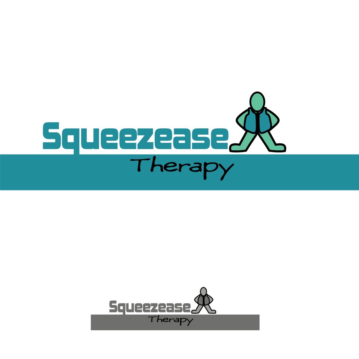 Logo Design by Joseph calunsag Cagaanan - Entry No. 16 in the Logo Design Contest Fun Logo Design for Squeezease Therapy.