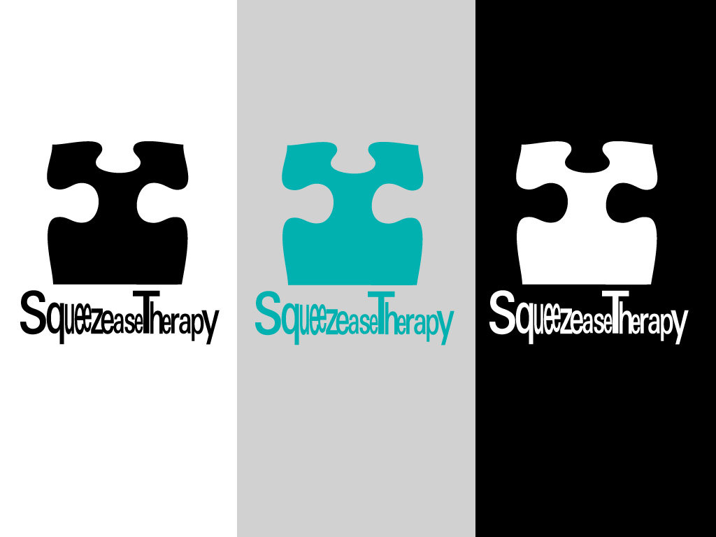 Logo Design by Private User - Entry No. 20 in the Logo Design Contest Fun Logo Design for Squeezease Therapy.
