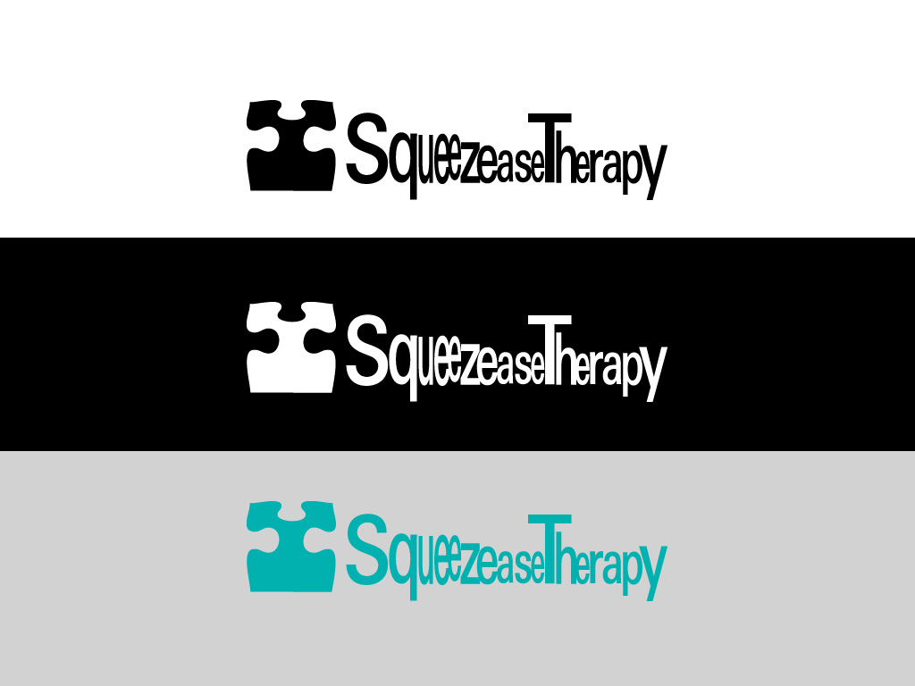 Logo Design by Private User - Entry No. 21 in the Logo Design Contest Fun Logo Design for Squeezease Therapy.