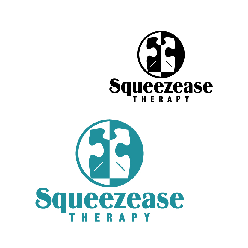 Logo Design by stormbighit - Entry No. 26 in the Logo Design Contest Fun Logo Design for Squeezease Therapy.