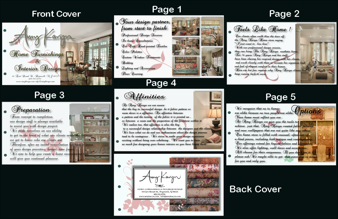 home interior design brochure pdf   home design and style