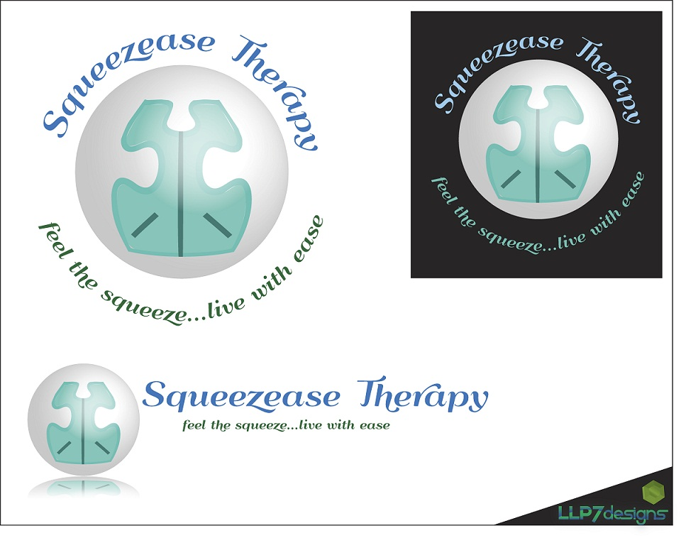Logo Design by LLP7 - Entry No. 31 in the Logo Design Contest Fun Logo Design for Squeezease Therapy.