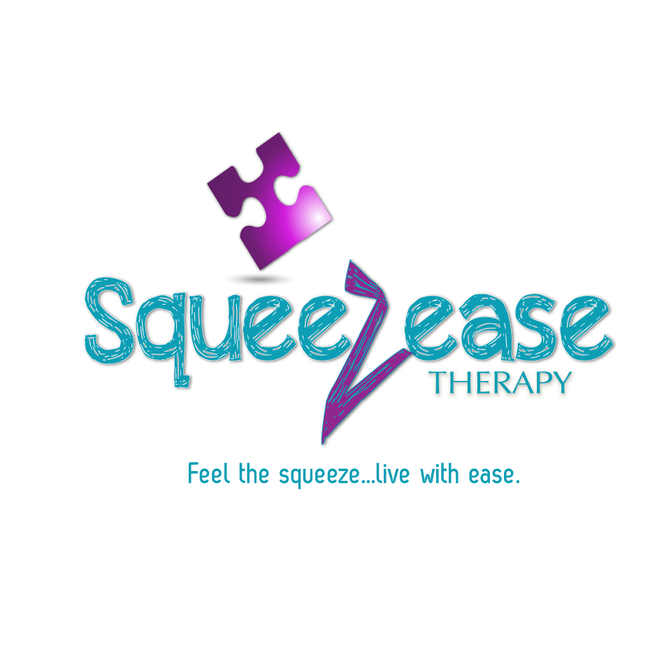 Logo Design by moonflower - Entry No. 38 in the Logo Design Contest Fun Logo Design for Squeezease Therapy.