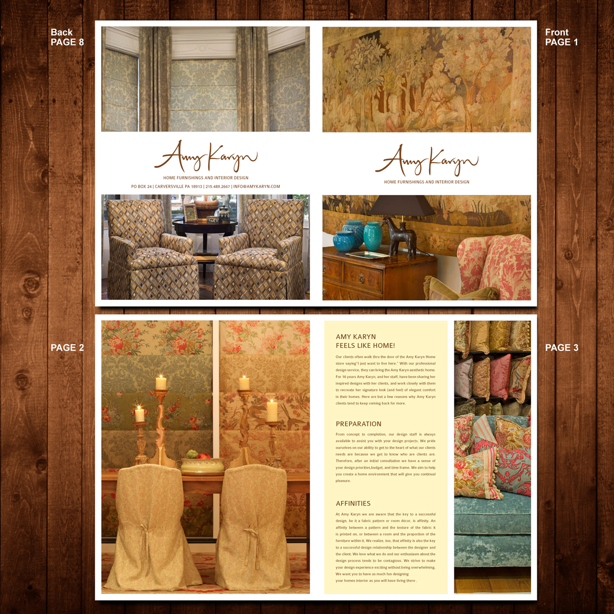 Print Design by Private User - Entry No. 34 in the Print Design Contest Print Design Needed for Interior Design Company Amy Karyn Inc..