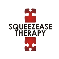 Logo Design by lestari17 - Entry No. 40 in the Logo Design Contest Fun Logo Design for Squeezease Therapy.