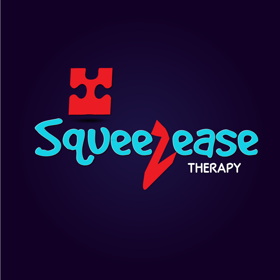 Logo Design by moonflower - Entry No. 48 in the Logo Design Contest Fun Logo Design for Squeezease Therapy.
