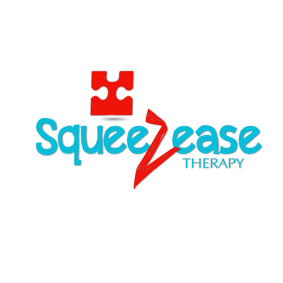 Logo Design by moonflower - Entry No. 49 in the Logo Design Contest Fun Logo Design for Squeezease Therapy.
