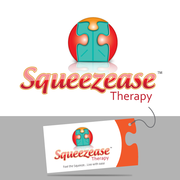 Logo Design by storm - Entry No. 53 in the Logo Design Contest Fun Logo Design for Squeezease Therapy.