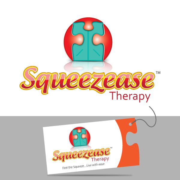 Logo Design by storm - Entry No. 54 in the Logo Design Contest Fun Logo Design for Squeezease Therapy.