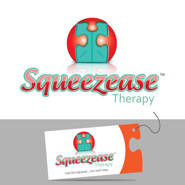 Logo Design by storm - Entry No. 55 in the Logo Design Contest Fun Logo Design for Squeezease Therapy.