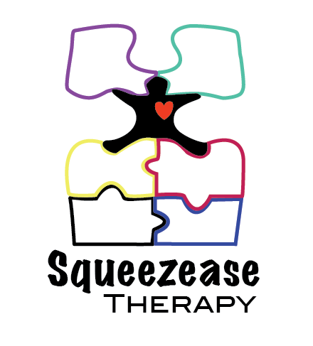 Logo Design by jw0ng - Entry No. 57 in the Logo Design Contest Fun Logo Design for Squeezease Therapy.