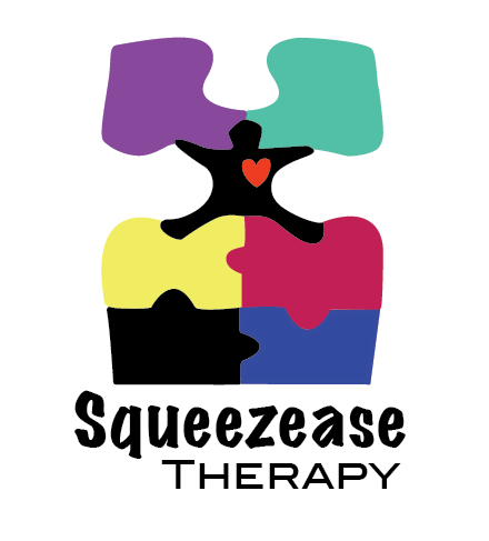 Logo Design by jw0ng - Entry No. 60 in the Logo Design Contest Fun Logo Design for Squeezease Therapy.
