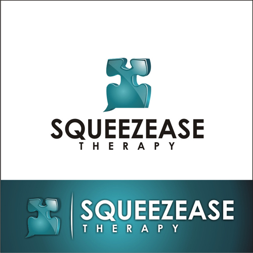 Logo Design by lestari17 - Entry No. 62 in the Logo Design Contest Fun Logo Design for Squeezease Therapy.