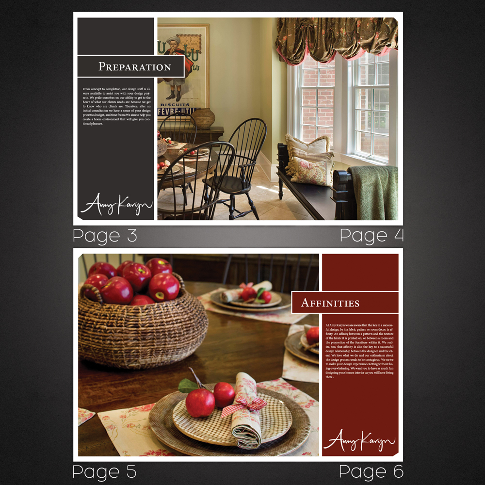 Print Design by braygray - Entry No. 49 in the Print Design Contest Print Design Needed for Interior Design Company Amy Karyn Inc..