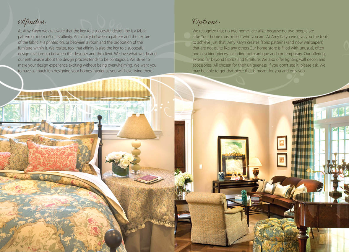 Print Design Needed For Interior Design Company Amy Karyn