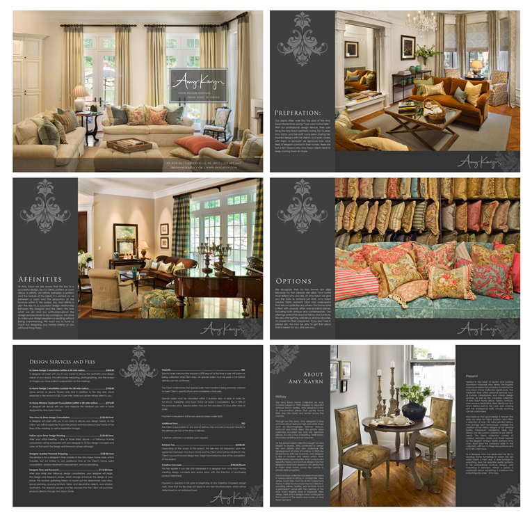 Print Design by double-take - Entry No. 68 in the Print Design Contest Print Design Needed for Interior Design Company Amy Karyn Inc..