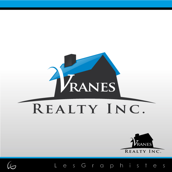 Logo Design by Les-Graphistes - Entry No. 2 in the Logo Design Contest Logo Design Needed for Exciting New Company Vranes Realty Inc..