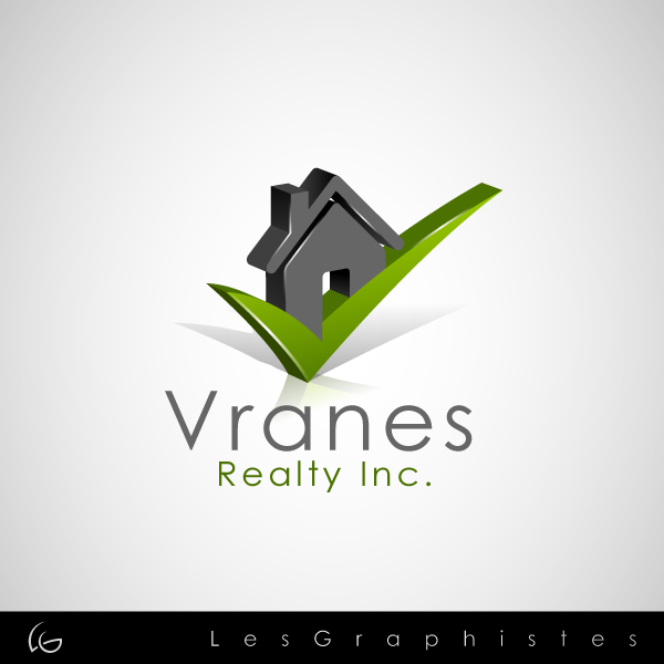 Logo Design by Les-Graphistes - Entry No. 3 in the Logo Design Contest Logo Design Needed for Exciting New Company Vranes Realty Inc..