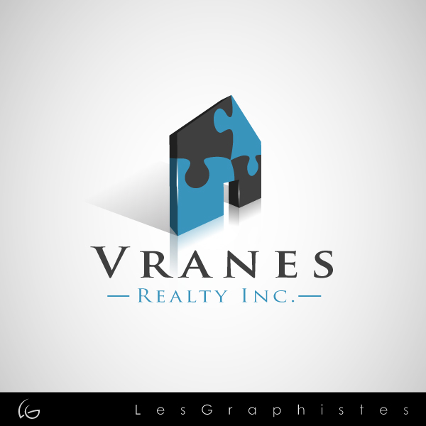 Logo Design by Les-Graphistes - Entry No. 5 in the Logo Design Contest Logo Design Needed for Exciting New Company Vranes Realty Inc..