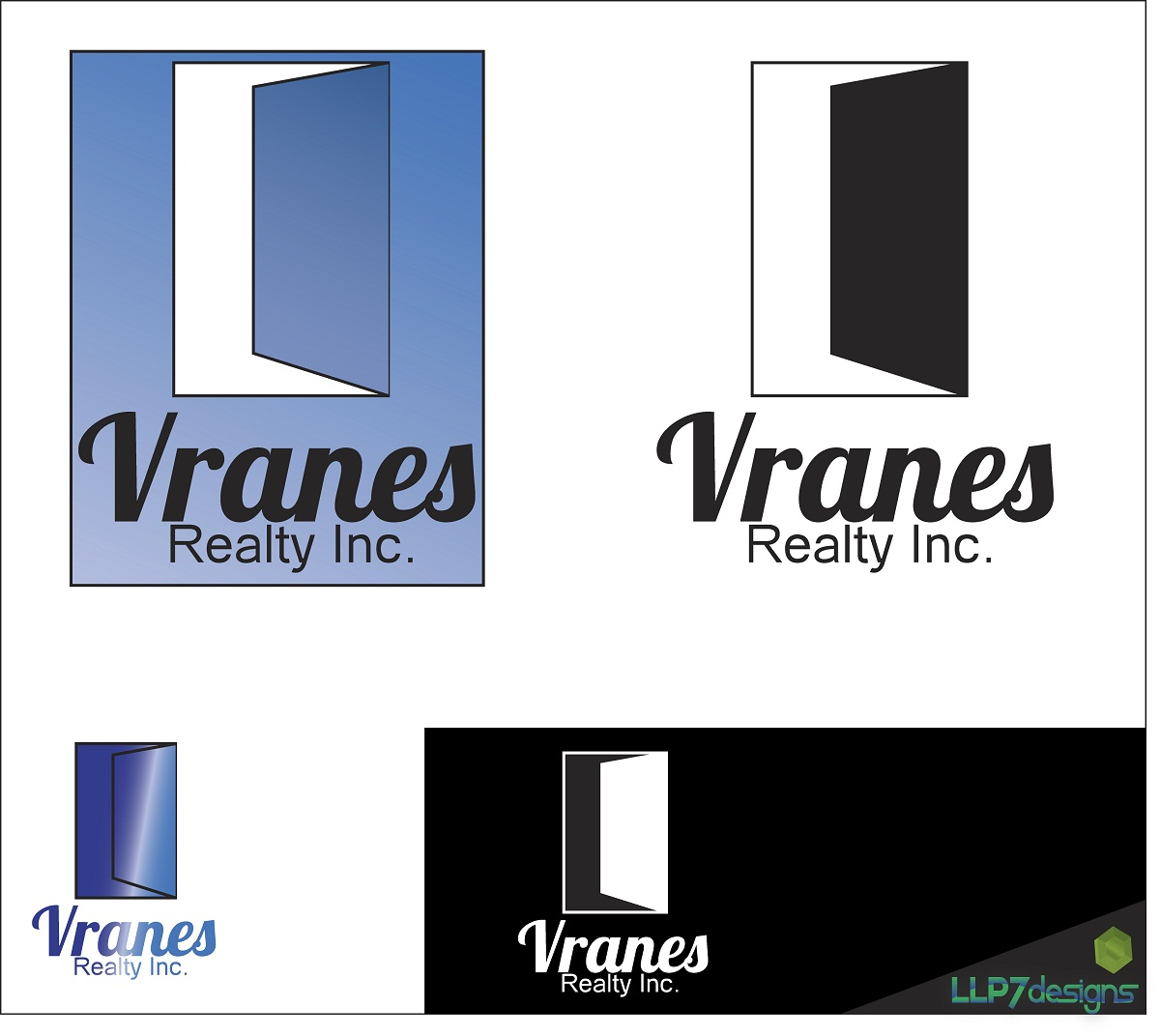 Logo Design by LLP7 - Entry No. 9 in the Logo Design Contest Logo Design Needed for Exciting New Company Vranes Realty Inc..