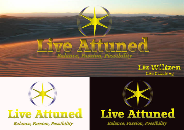 Logo Design by Heri Susanto - Entry No. 8 in the Logo Design Contest New Logo Design for Live Attuned.