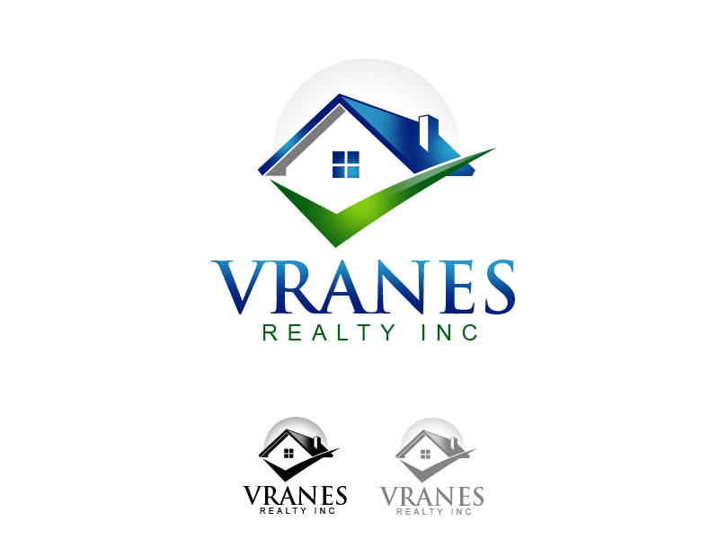 Logo Design by alocelja - Entry No. 20 in the Logo Design Contest Logo Design Needed for Exciting New Company Vranes Realty Inc..