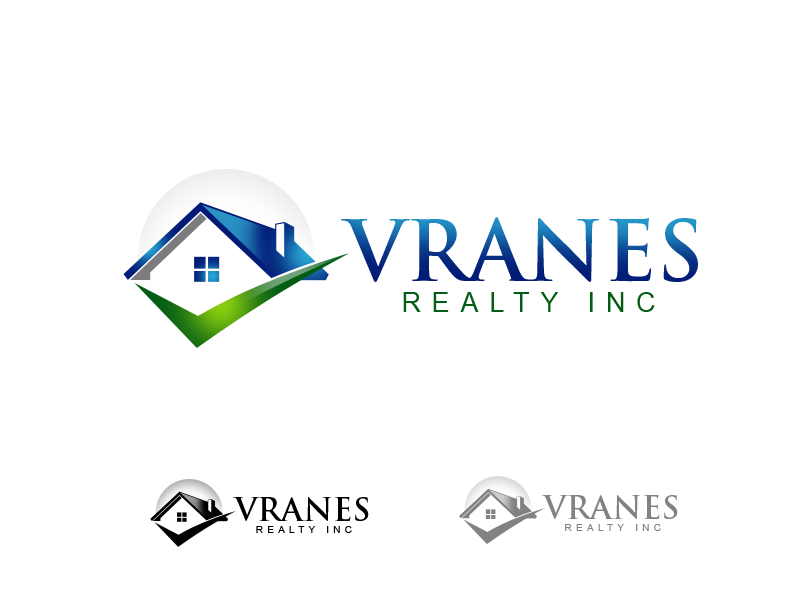Logo Design by alocelja - Entry No. 21 in the Logo Design Contest Logo Design Needed for Exciting New Company Vranes Realty Inc..