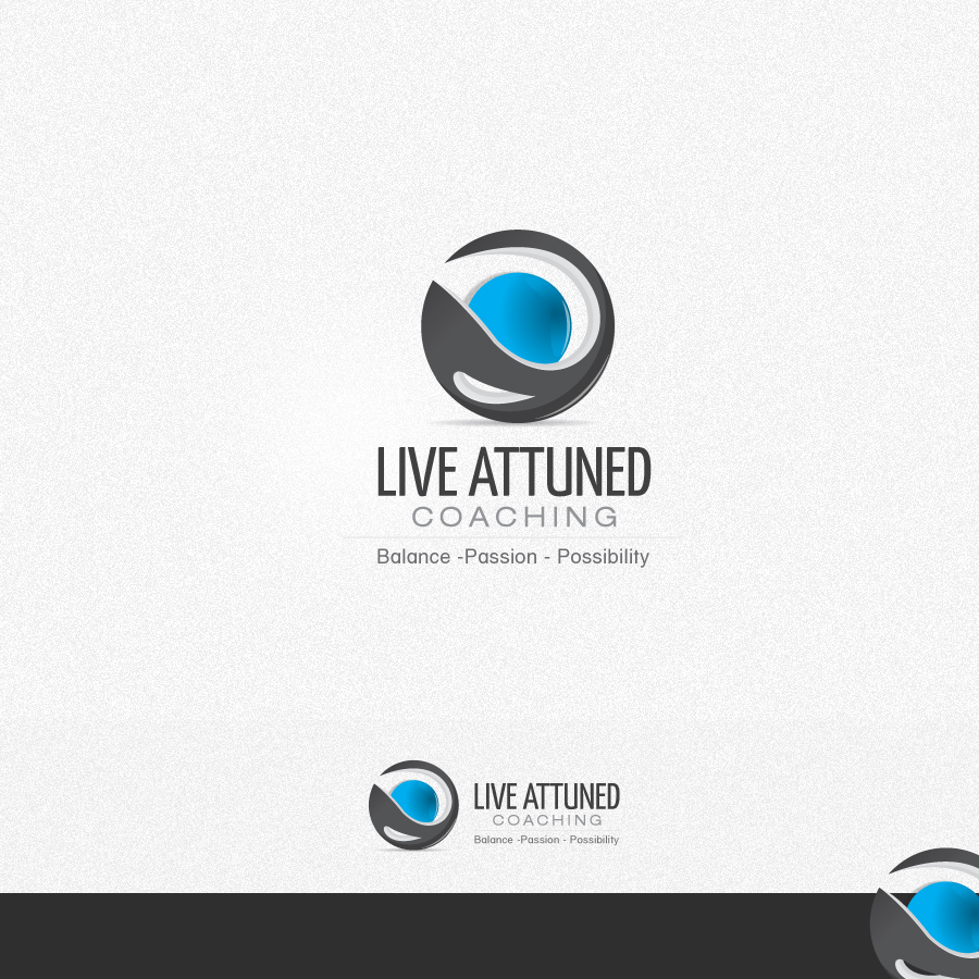 Logo Design by rockpinoy - Entry No. 37 in the Logo Design Contest New Logo Design for Live Attuned.