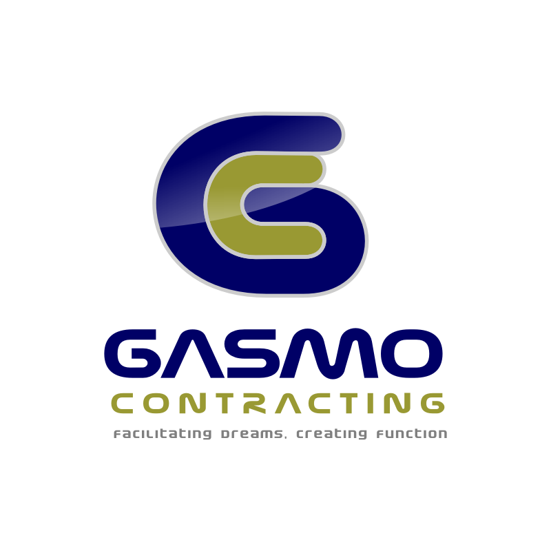 Logo Design by Rudy - Entry No. 2 in the Logo Design Contest Professional Logo Design for Gasmo Contracting.