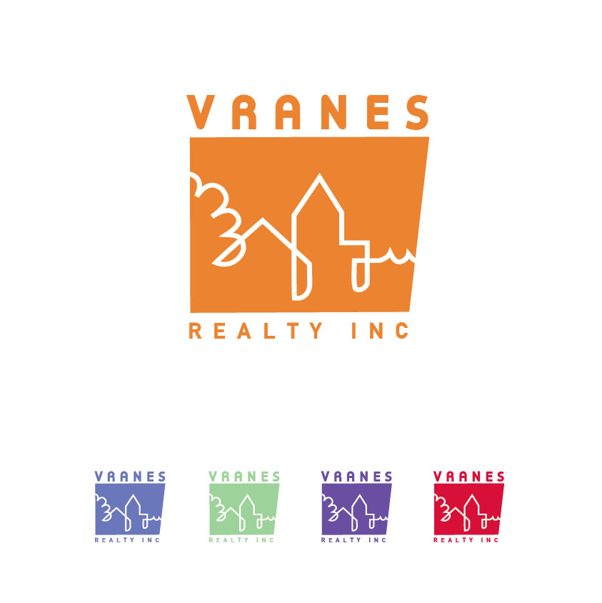 Logo Design by limix - Entry No. 40 in the Logo Design Contest Logo Design Needed for Exciting New Company Vranes Realty Inc..