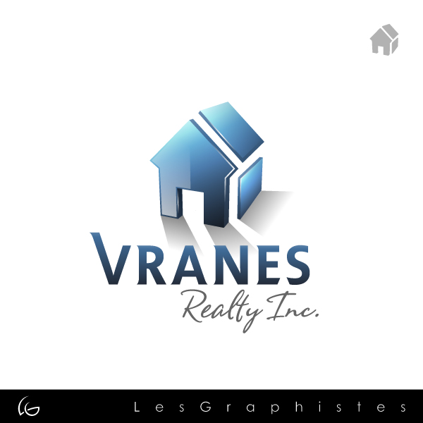 Logo Design by Les-Graphistes - Entry No. 41 in the Logo Design Contest Logo Design Needed for Exciting New Company Vranes Realty Inc..