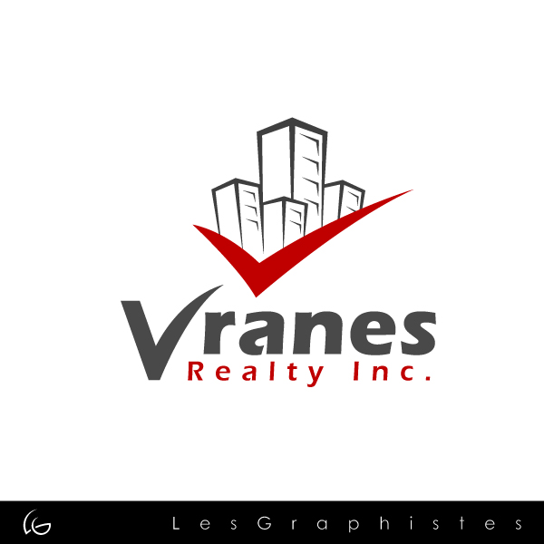 Logo Design by Les-Graphistes - Entry No. 42 in the Logo Design Contest Logo Design Needed for Exciting New Company Vranes Realty Inc..