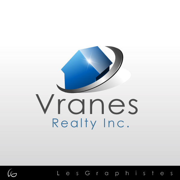 Logo Design by Les-Graphistes - Entry No. 43 in the Logo Design Contest Logo Design Needed for Exciting New Company Vranes Realty Inc..