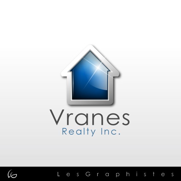 Logo Design by Les-Graphistes - Entry No. 44 in the Logo Design Contest Logo Design Needed for Exciting New Company Vranes Realty Inc..