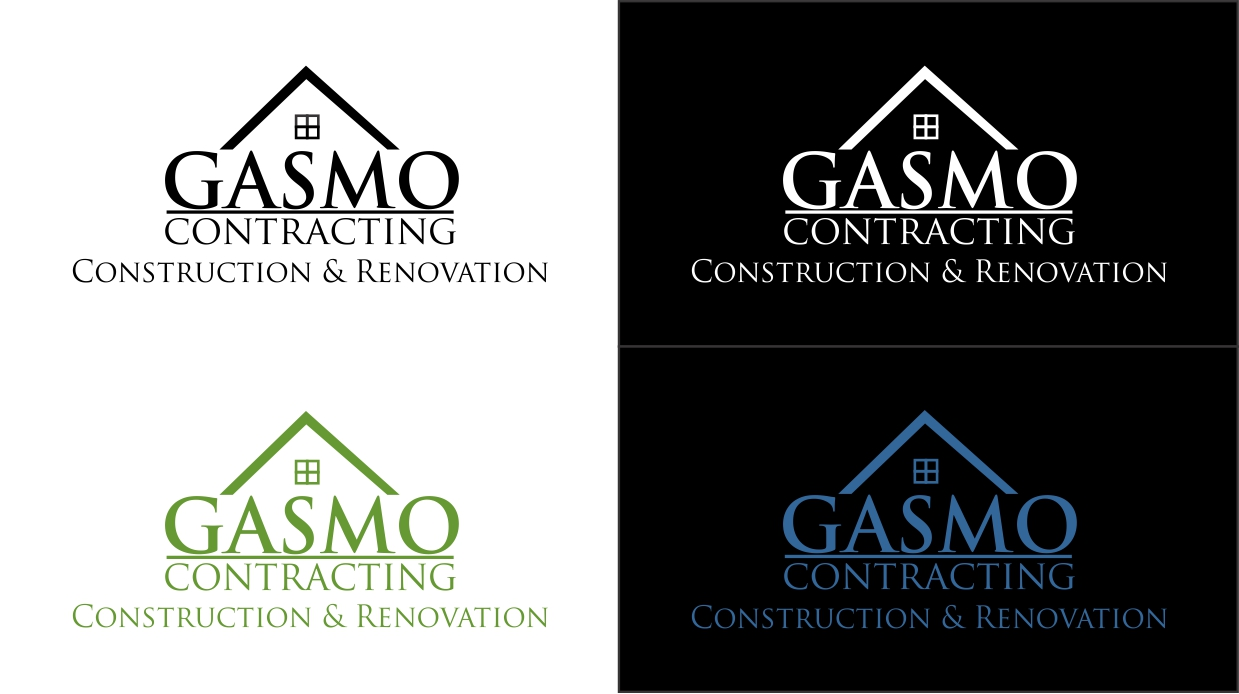 Logo Design by dzoker - Entry No. 3 in the Logo Design Contest Professional Logo Design for Gasmo Contracting.