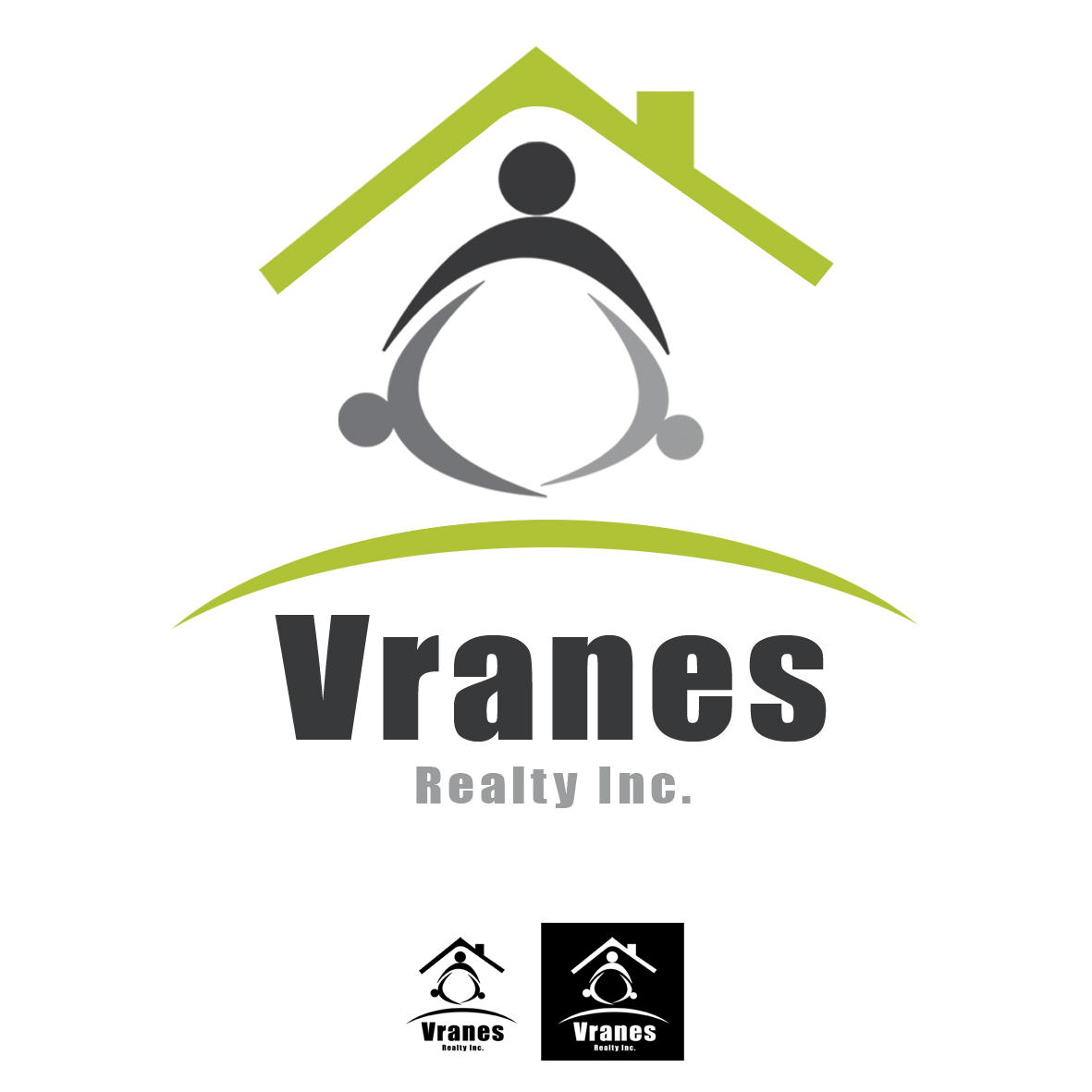 Logo Design by mersina - Entry No. 51 in the Logo Design Contest Logo Design Needed for Exciting New Company Vranes Realty Inc..