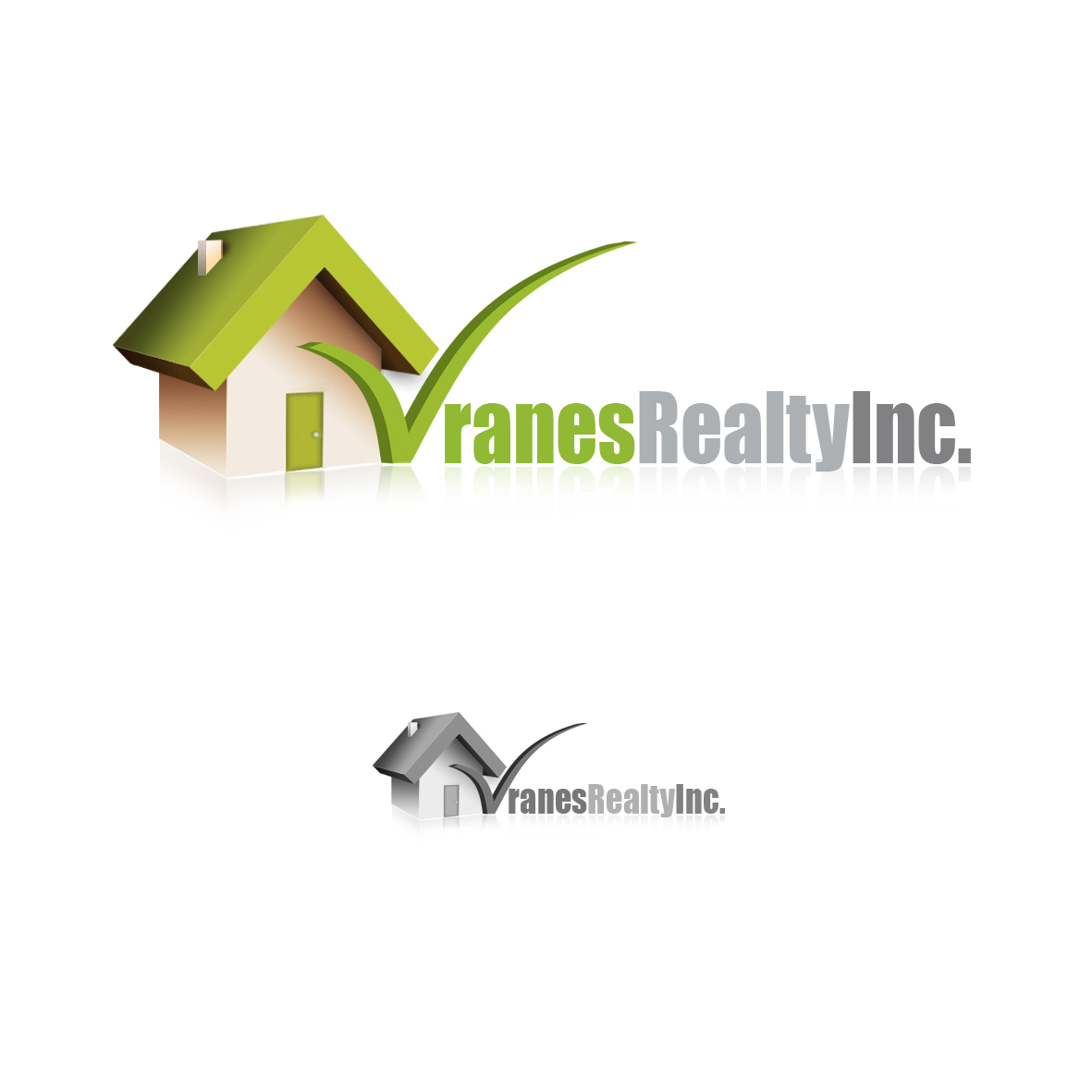 Logo Design by mersina - Entry No. 53 in the Logo Design Contest Logo Design Needed for Exciting New Company Vranes Realty Inc..