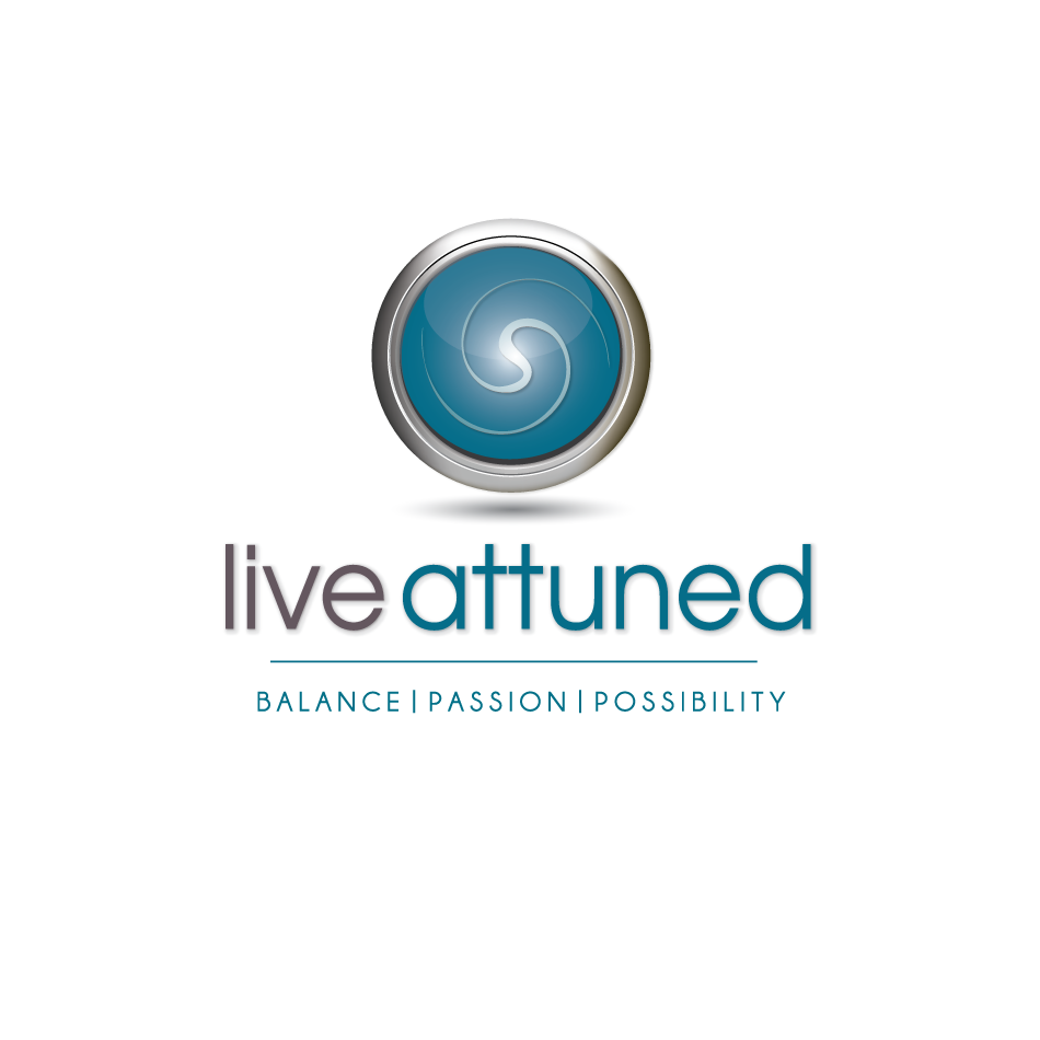 Logo Design by moonflower - Entry No. 55 in the Logo Design Contest New Logo Design for Live Attuned.