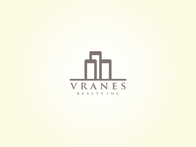 Logo Design by kuki - Entry No. 71 in the Logo Design Contest Logo Design Needed for Exciting New Company Vranes Realty Inc..