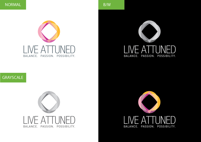 Logo Design by Christian Nascimento - Entry No. 60 in the Logo Design Contest New Logo Design for Live Attuned.