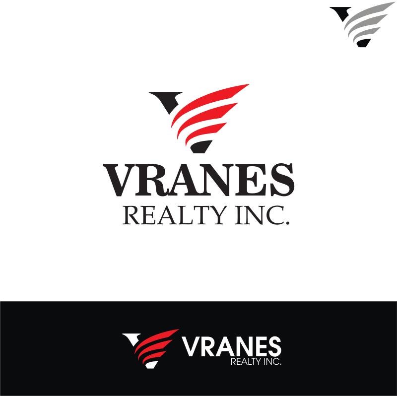 Logo Design by kirmis - Entry No. 83 in the Logo Design Contest Logo Design Needed for Exciting New Company Vranes Realty Inc..