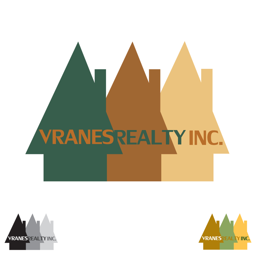 Logo Design by caseofdesign - Entry No. 86 in the Logo Design Contest Logo Design Needed for Exciting New Company Vranes Realty Inc..