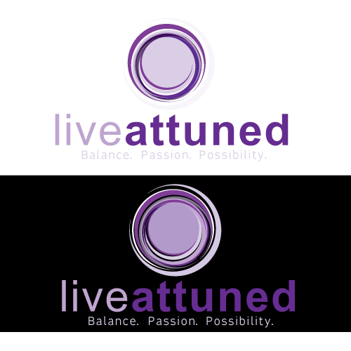 Logo Design by keekee360 - Entry No. 74 in the Logo Design Contest New Logo Design for Live Attuned.