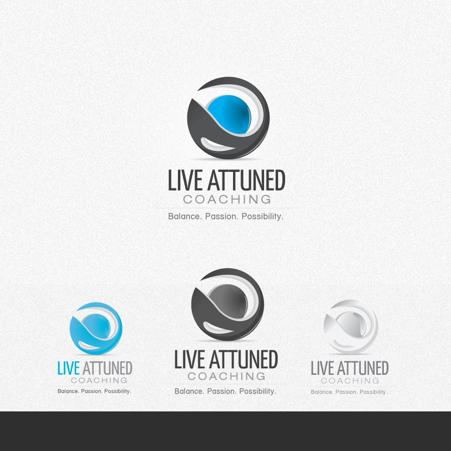 Logo Design by rockpinoy - Entry No. 83 in the Logo Design Contest New Logo Design for Live Attuned.