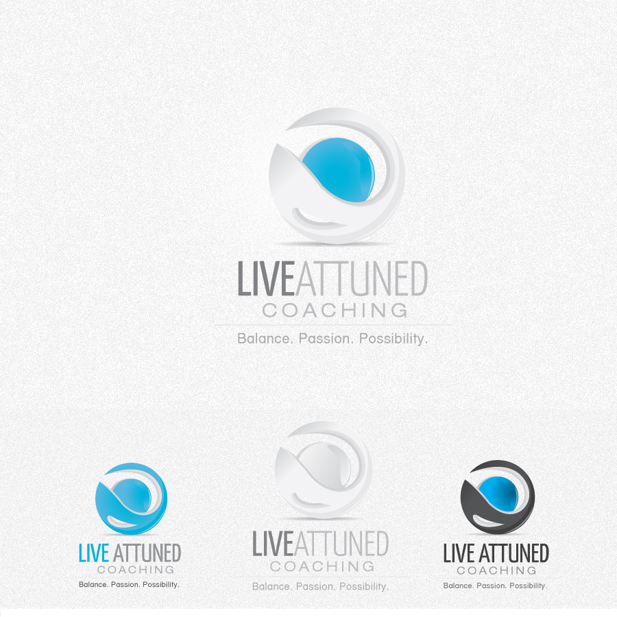 Logo Design by rockpinoy - Entry No. 84 in the Logo Design Contest New Logo Design for Live Attuned.