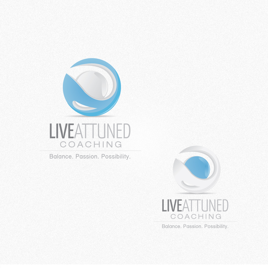 Logo Design by rockpinoy - Entry No. 91 in the Logo Design Contest New Logo Design for Live Attuned.